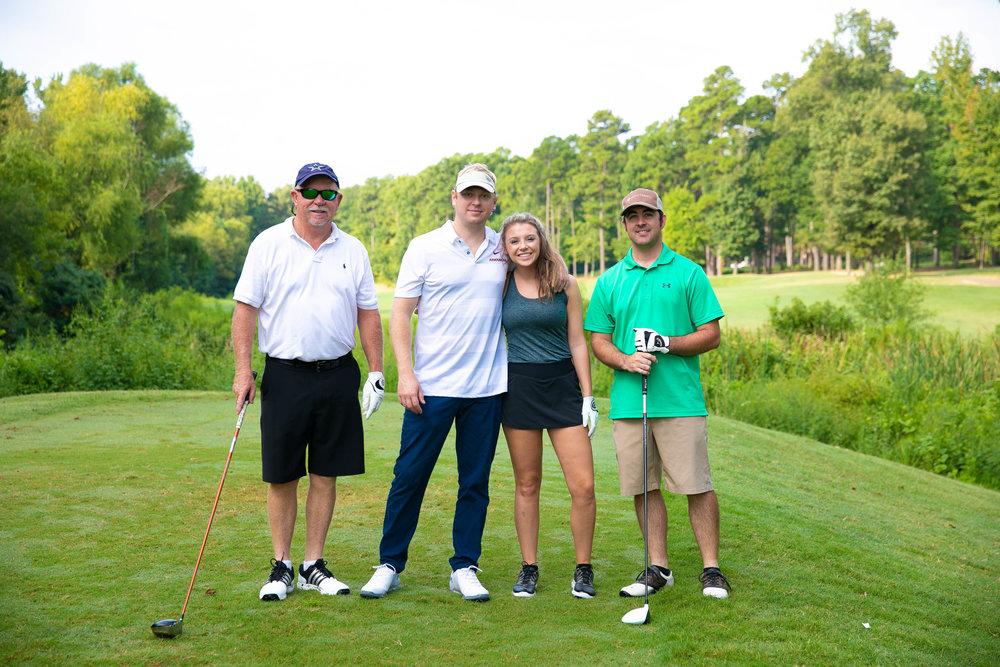 Jeff Castle, Dr. Jay Castle, Bethany Dixon Castle and Patton Crank