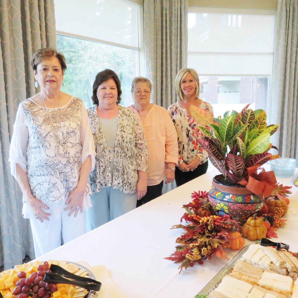 Rosemary White, Kathie Eaton, Elaine Early and Missy White