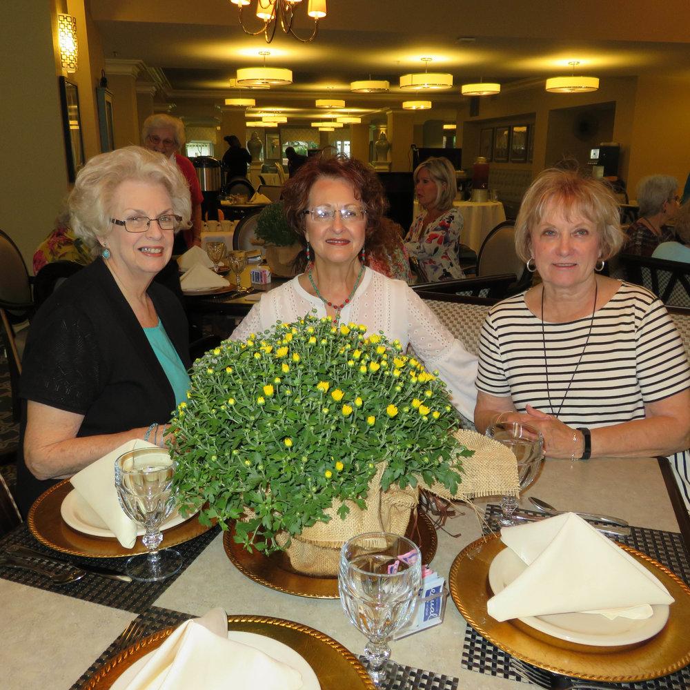 Bobbye Lemmerhirt, Andrea Worley and Nancy Lee