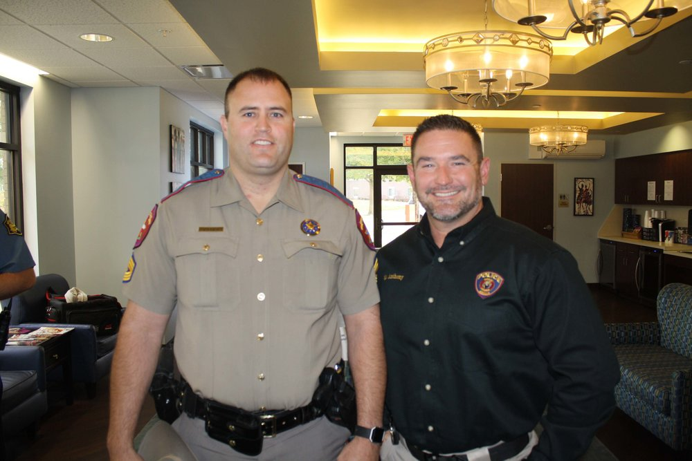 Sgt. Eric Estes and Sgt. Andy Anthony