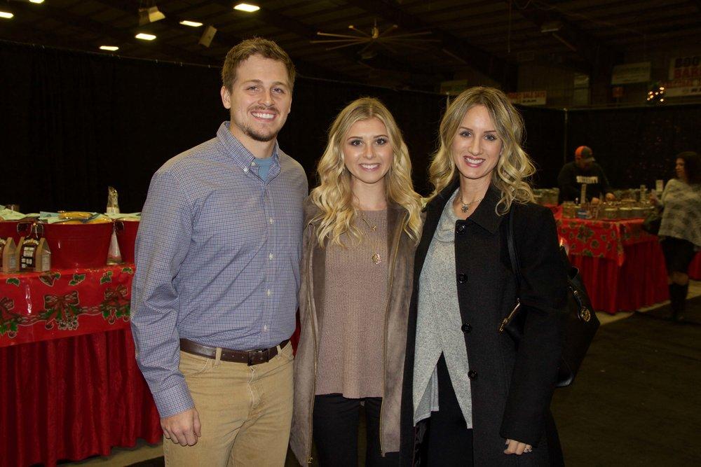 Jordan Pickett, Kailey Carr and Karrie Reeves