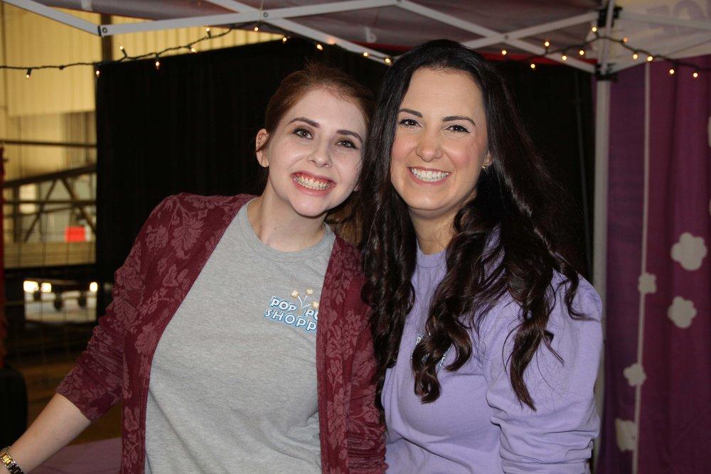 Leah Alfaro and Cassidy Lavender