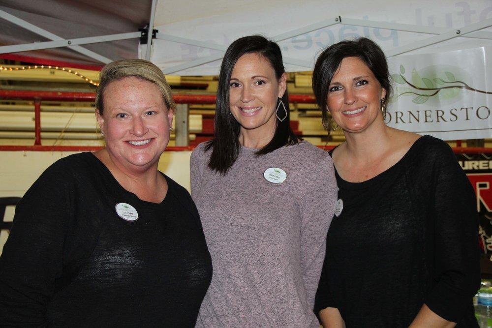 Lou Fowler, Bradi Kelley and Brittany Gavriel