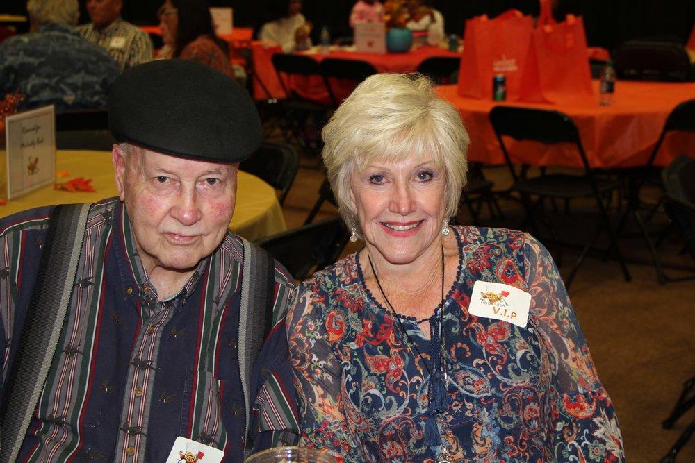 Skipper Wormington and Annette Kilker