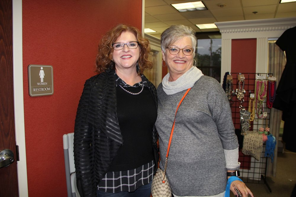 Belinda Doss and Nancy Luman
