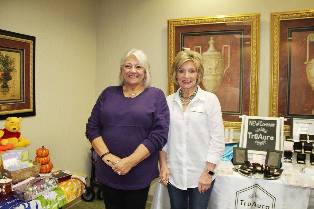Debbie Greene and Brenda Sawyer