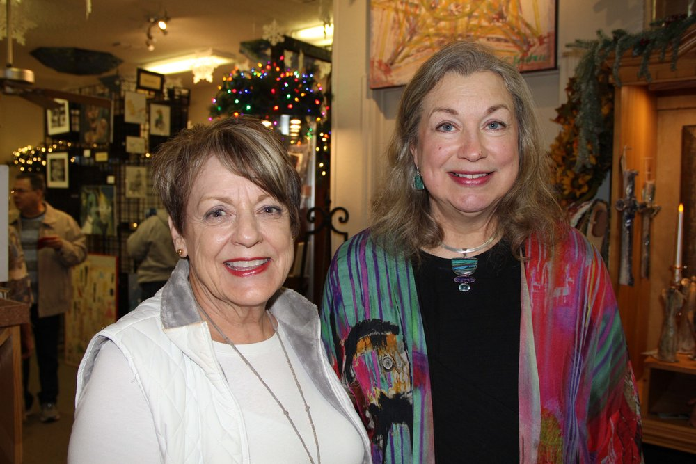 Sue Taaffe and Jeannie Knod Edwards