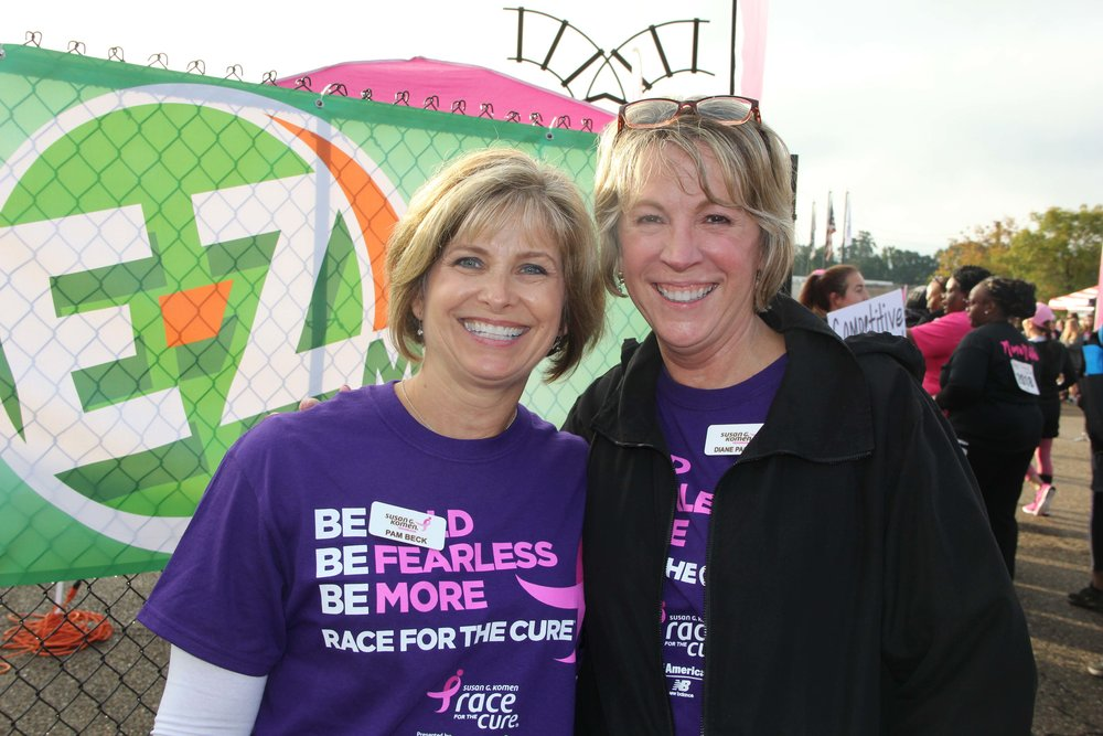 Pam Beck and Diane Paolucci