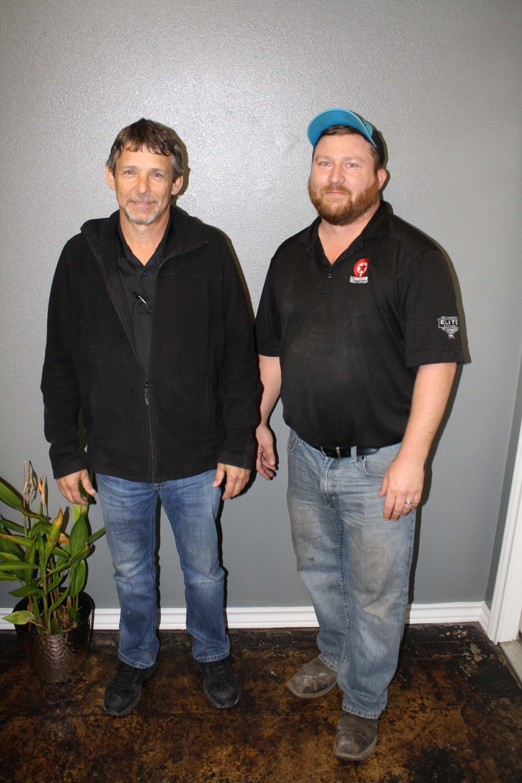 Michael Demoss and Josh Morrow