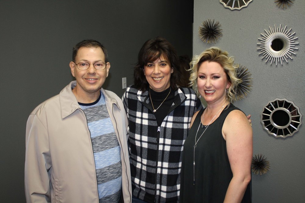 Lavell Williamson, Amy Moore and Patty Lynn