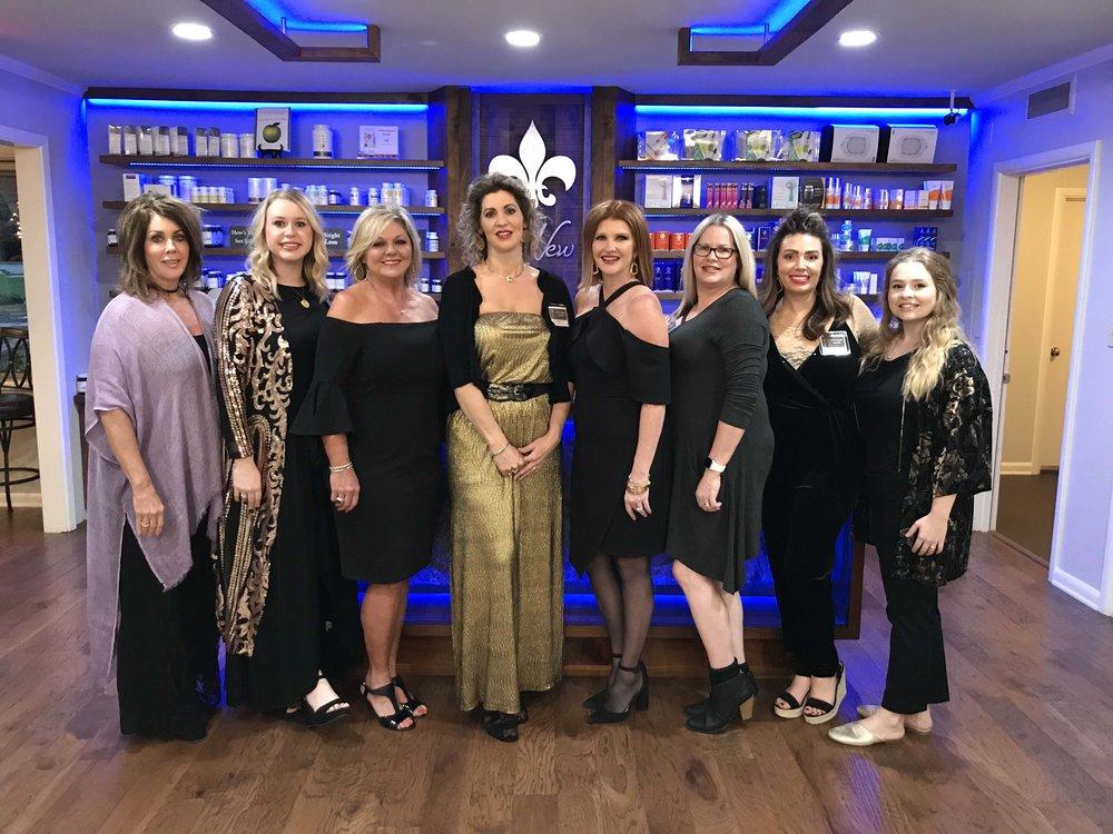 June Hamilton, Lauren Kennedy, Mirian McClure, Theresa Fontenot, Tammie Luthringer, Kellie Sasser, Nina Howeth and Emilee Satterfeld