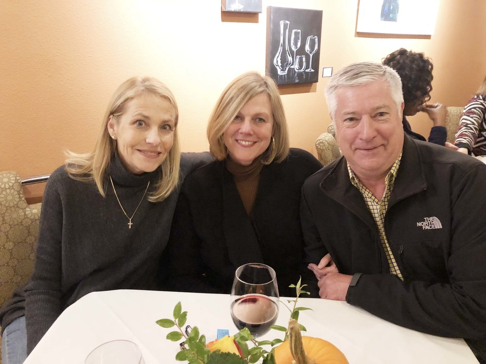 Nancy Hoehn, Leigh Davis and William Ditmore