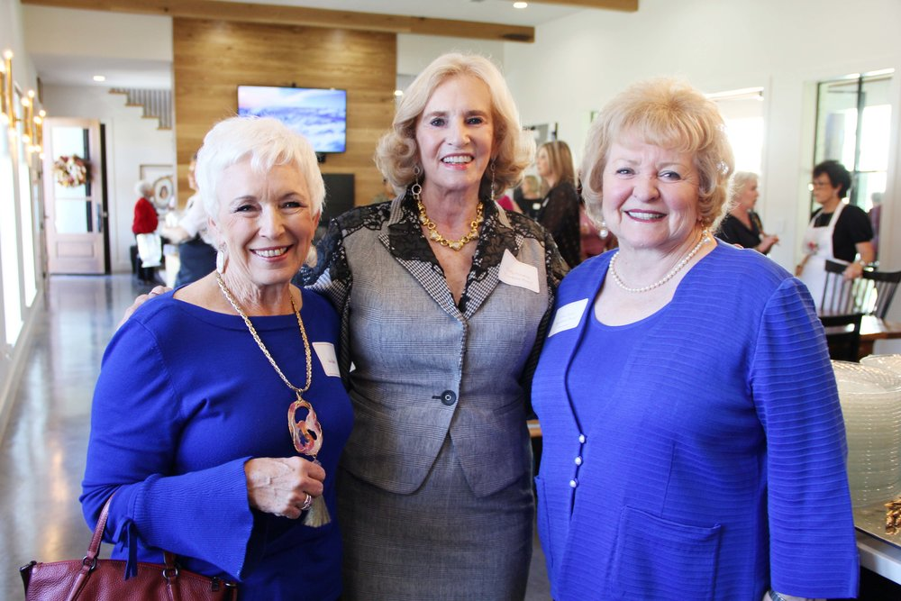 Sue Beck, Dolly Marting and Joan Carter