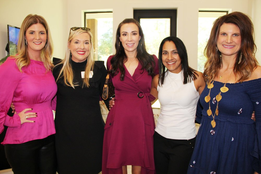 Kelli Phillips, Cassy Meisenheimer, Mindi Pruett, Anitha Kurichety and Nicole Brisco