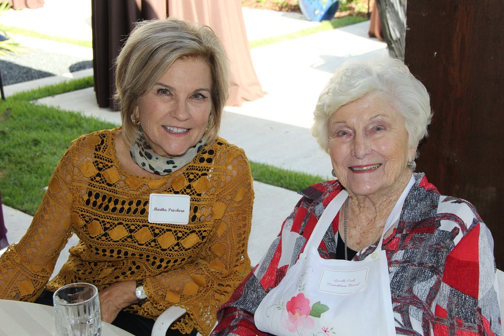 Martha Prieskorn and Lucille Cook