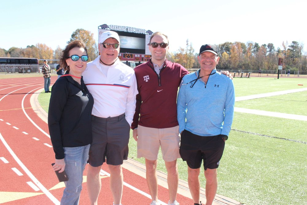 Shelby Brown, Paul Miller, Will Barry and Dr. Brian Barry