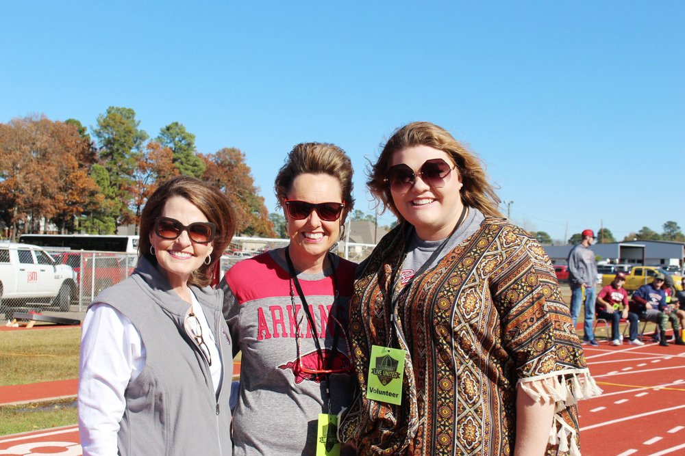 Anne Douglas, Dena Youngblood and Emily Andrews