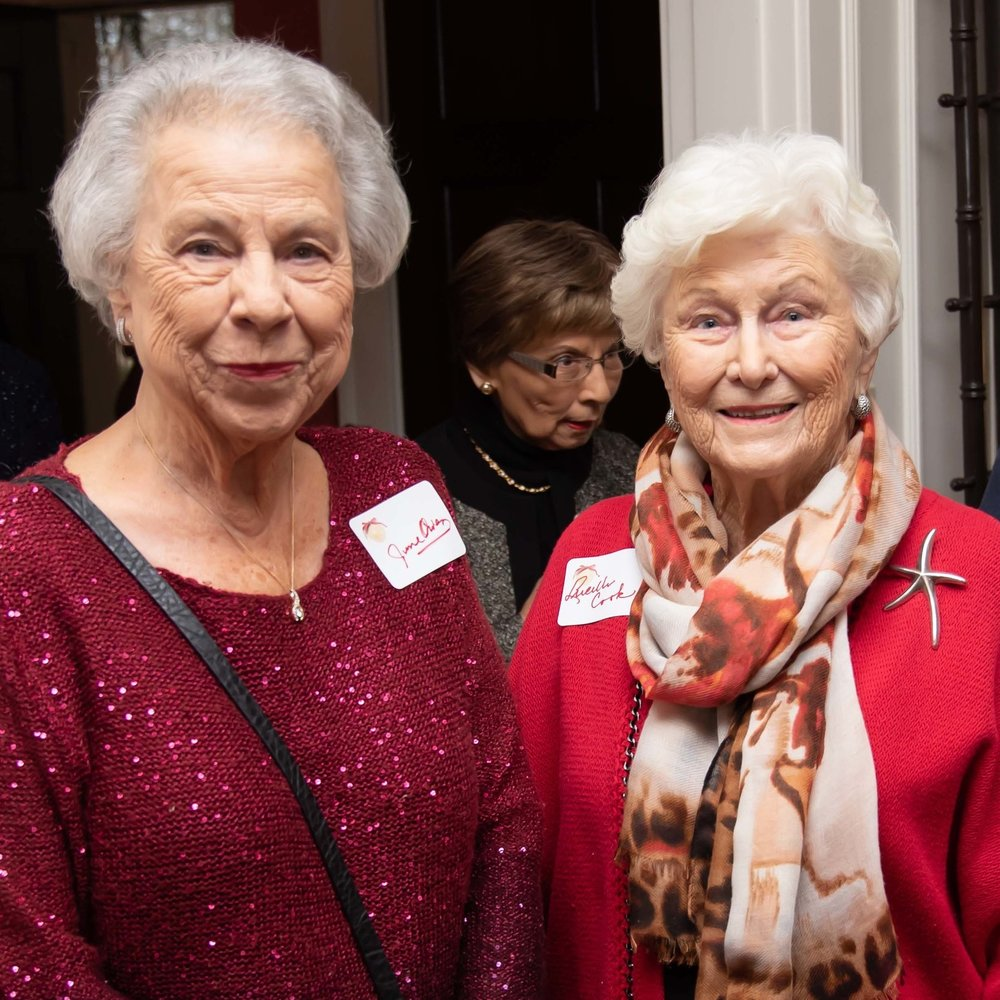 June Owen and Lucille Cook