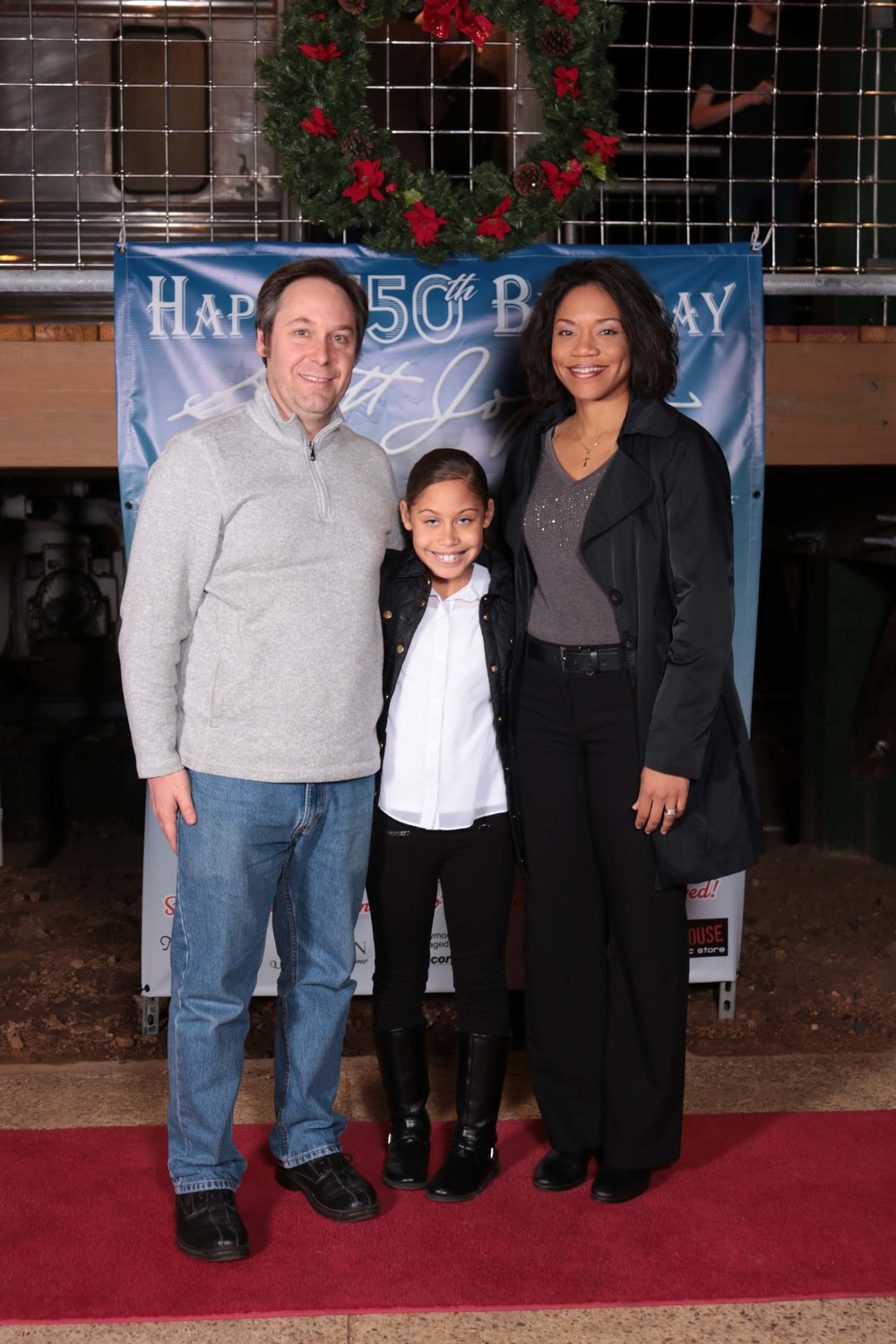 Marc-André and Miriam Bougie with Candace Taylor