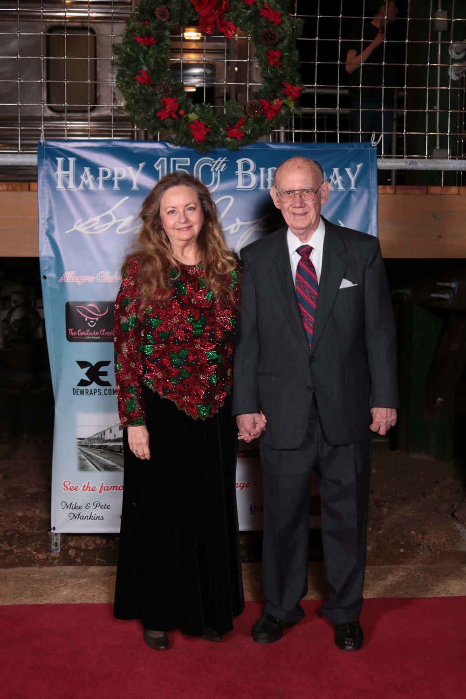 Dr. Jane Morris and Tom Wooten