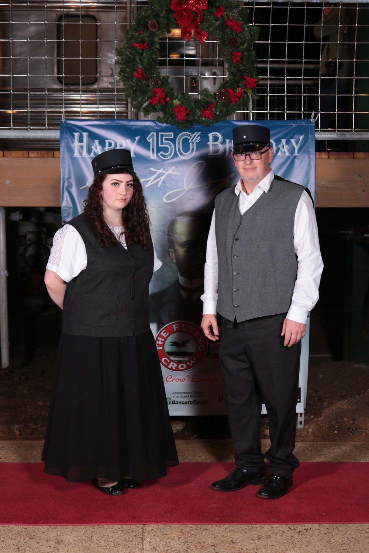 Cecelia Morgan and Billy Brown