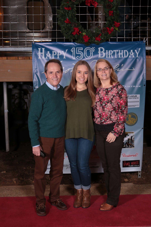 Brian, Cecelia and Patti Goesl