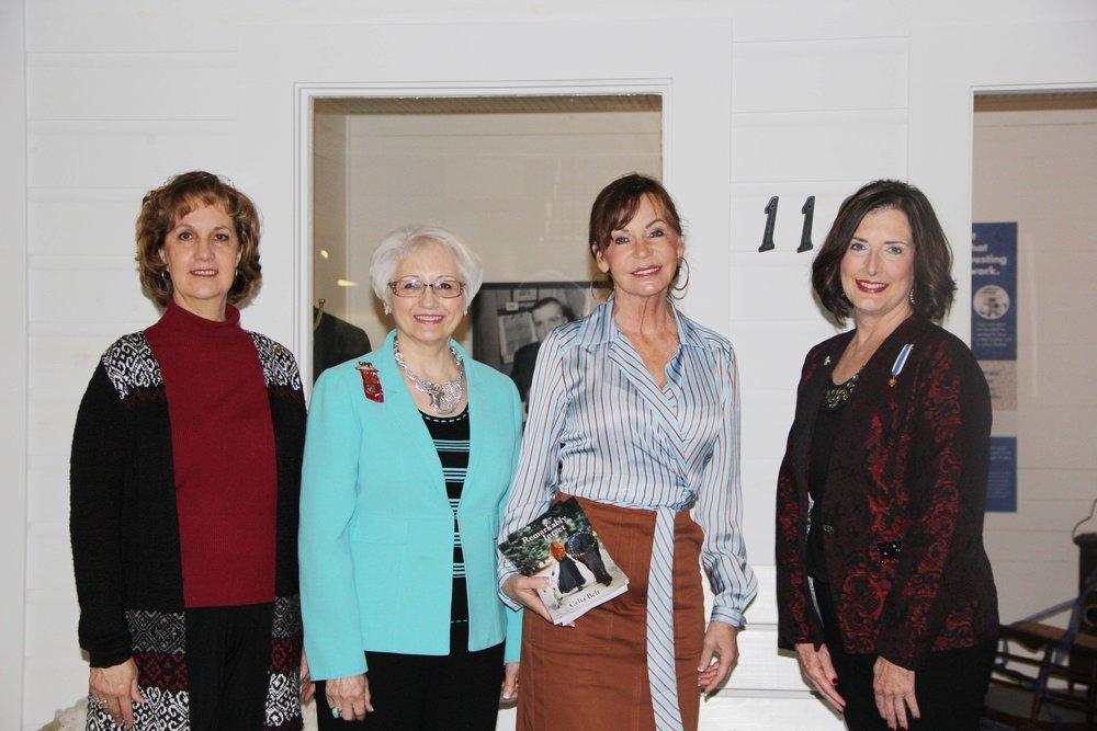 Marjorie Fuerst, Pamela King, Celia Belt and Tammie Duncan