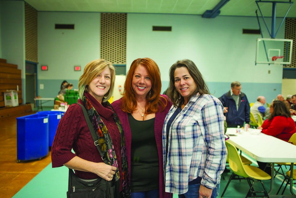 Robin Townsend, Michelle Walraven and Terri McCarty