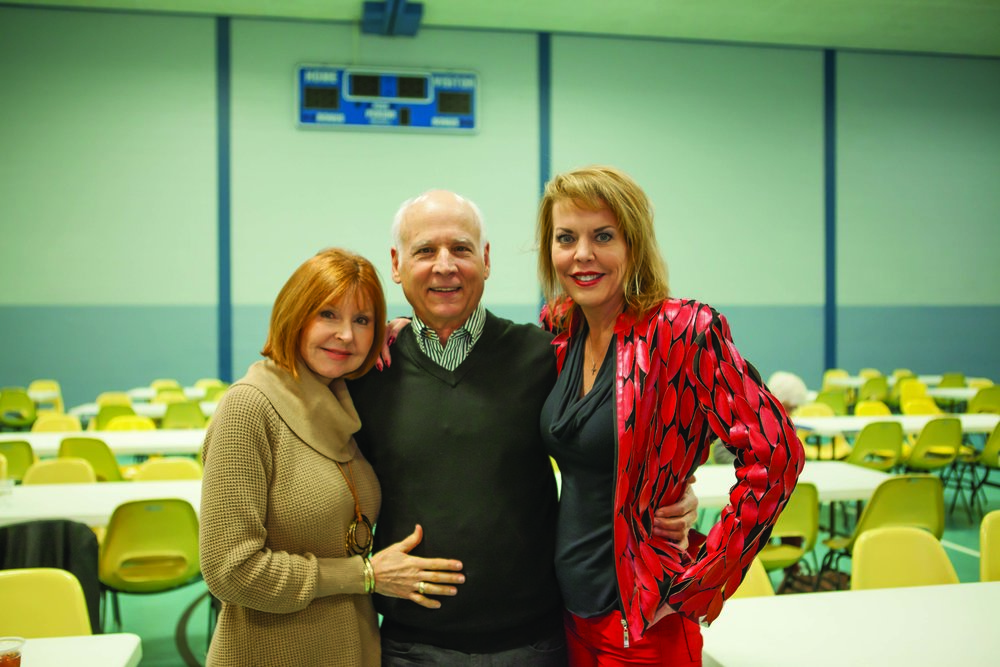 Julie-Ray and John Harrison with Amy Warren