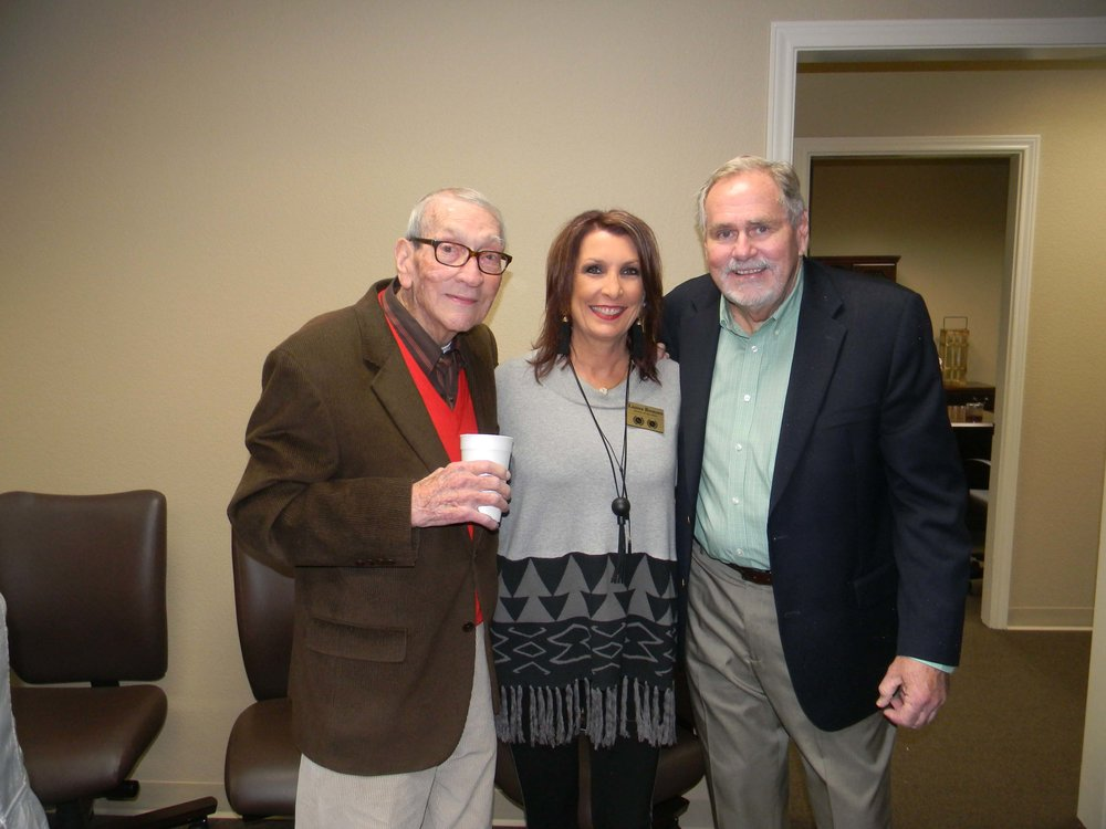 Judge John Stroud, Lauree Romero and Craig Dunbar