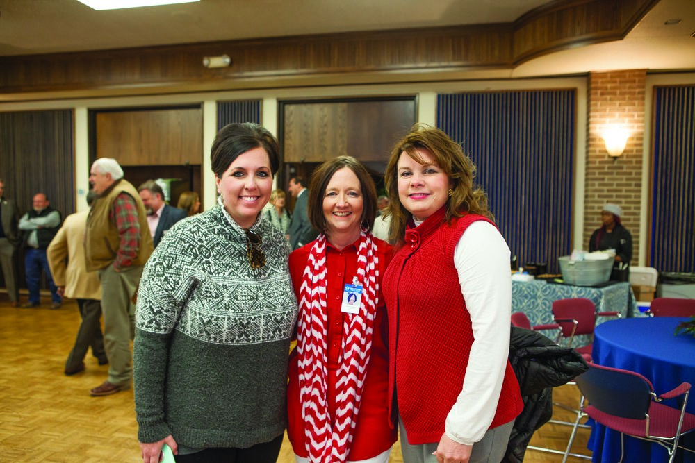 Jill Douglas, Karen Cowan and Sherry Newkirk