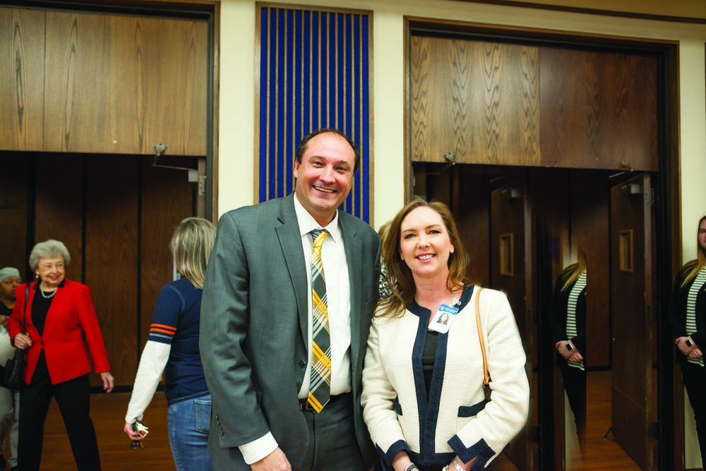 Dr. Jason Smith and Courtney Shoalmire