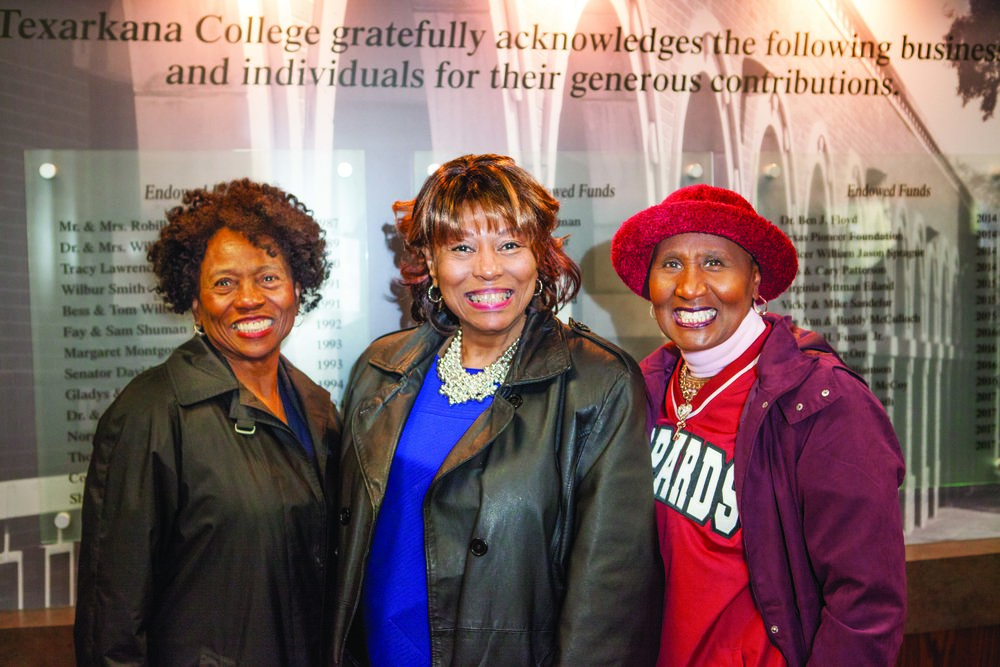 Bea Ross, Jo Ann Rice and Rhonda Dolberry