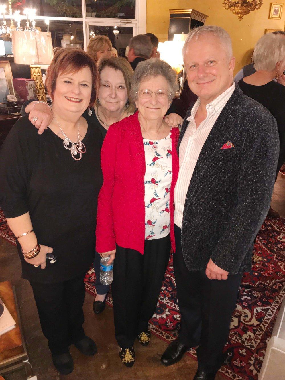Tina Shearman, Debbie James, Lou Ann Brown and Jeff Brown