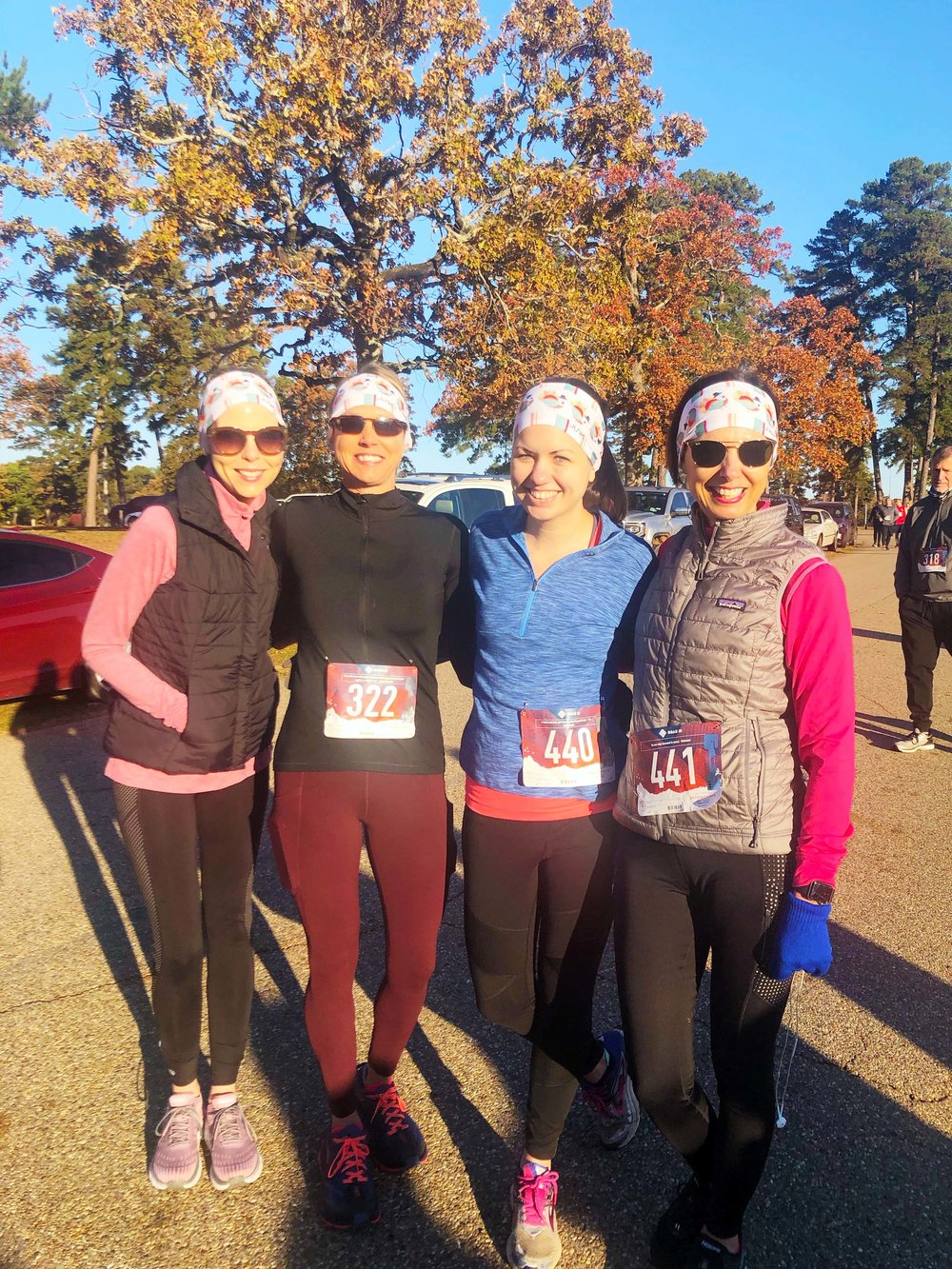 Kimberly Davis, Tresa Cox, Sarah Vammen and Melinda Vammen