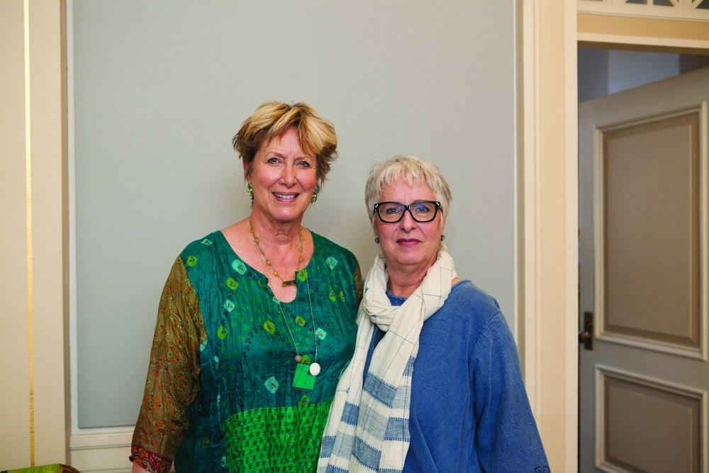 Donna Blair and Linda Register