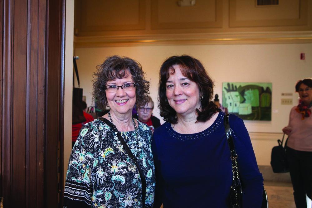 Falicia Stanford and Brenda Deaton