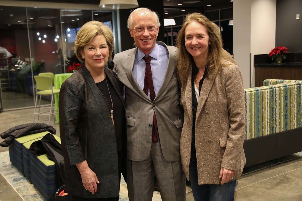 Dr. Emily Cutrer with Scott and Jane Bruner