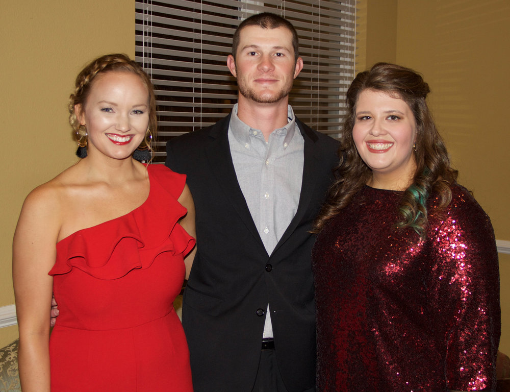 Lacy and Ty Young with Caitlin Sheets
