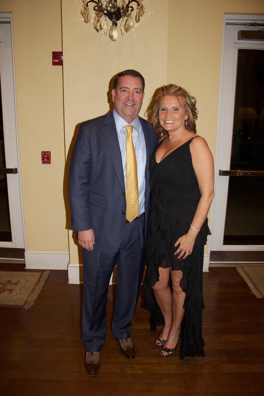 Kevin Cline and Gina Parish
