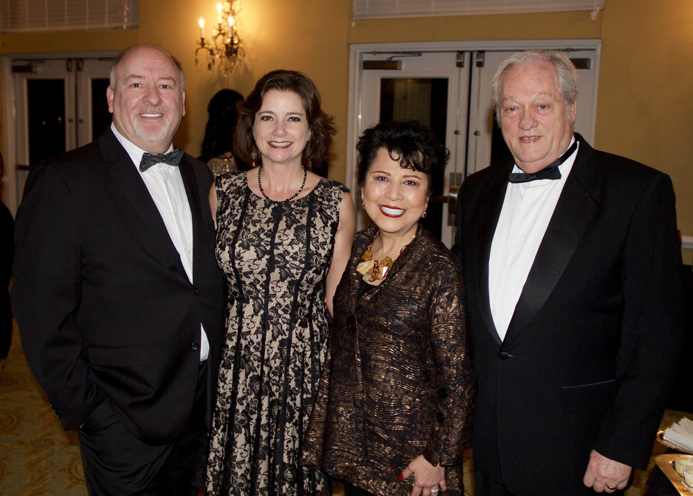 Tony and Lesa Asbille with Yulin and Jerry Brewer
