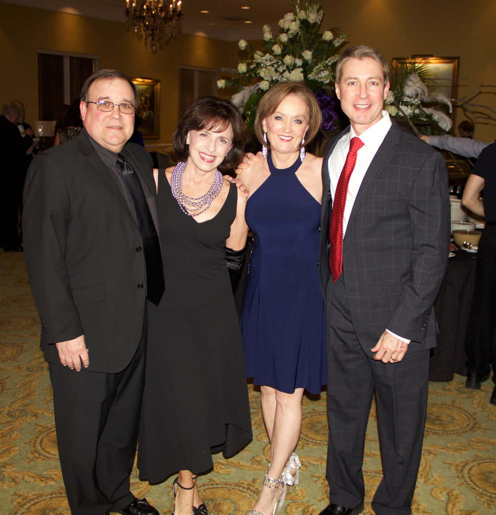 Al and Johnie Smith with Diane and Judge Tom Cooper