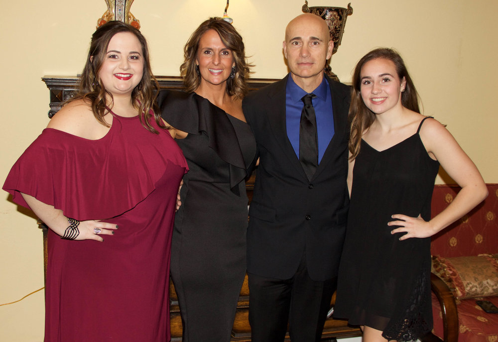 Morgan, Billie, Jeff and Sydnee Pritchett