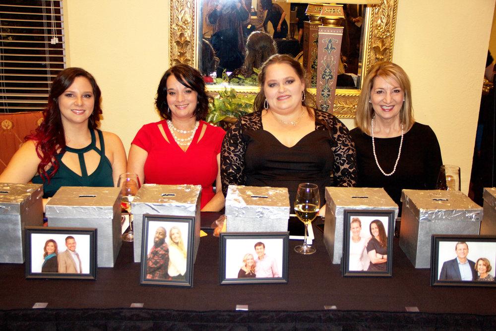 Jillian Kinney, Kristy Sharp, Jessica Wright and Kathi Robinson