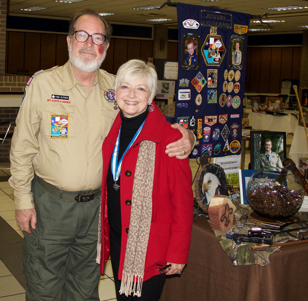 Dr. Tom Cutrer and Bennie Phillips