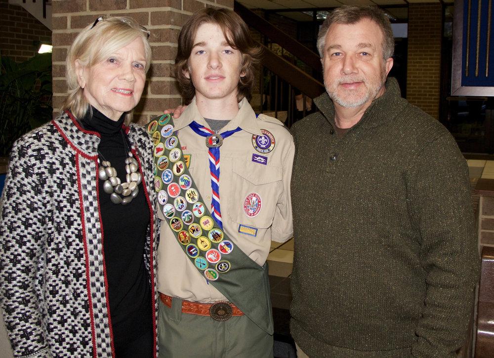 Linda, Whit and Dr. Mark Addington