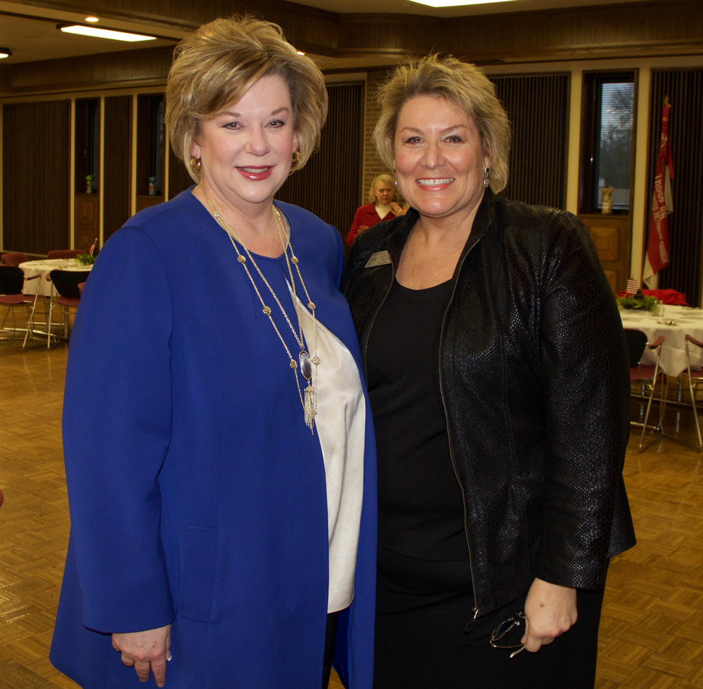Tina Veal-Gooch and Mary Ellen Young