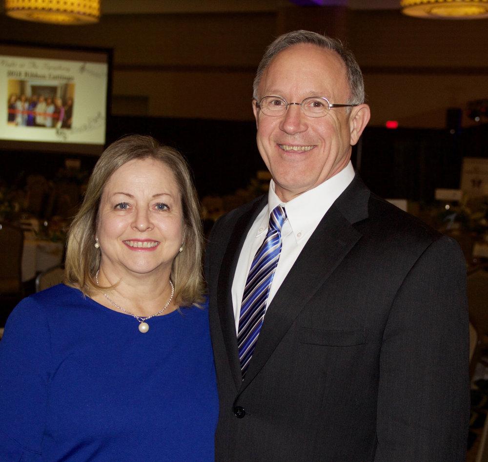 Kathy and James Bramlett