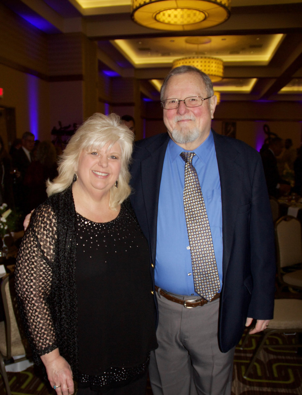 Pam Hesser Owney and Bill Owney