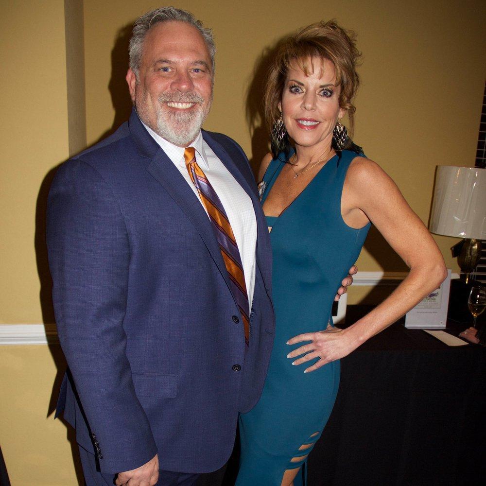Chris Court and Amy Warren